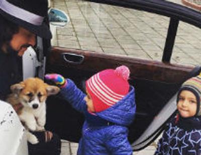 Филипп Киркоров подарил своим детям друга