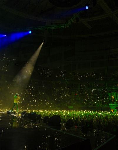 10 тысяч поклонников пришли послушать живое выступление артиста
