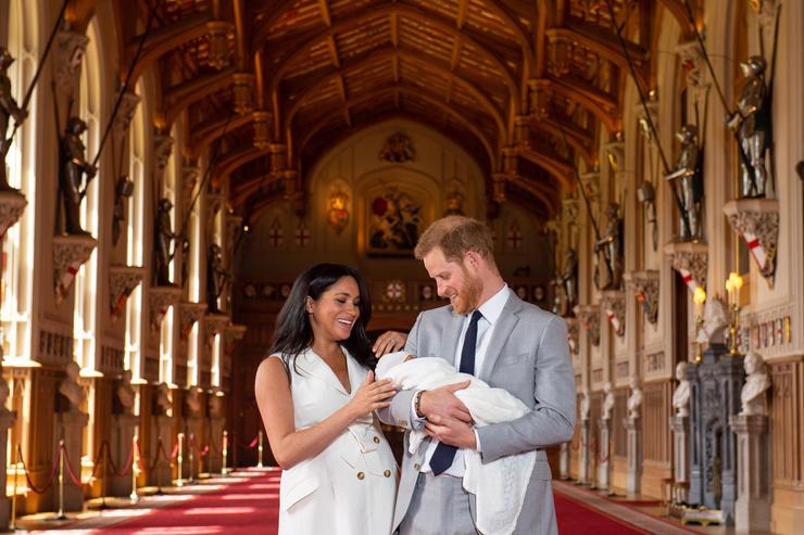Сын Гарри и Меган родился 6 мая