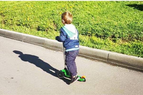 Сыну Катиной в мае исполнилось три года