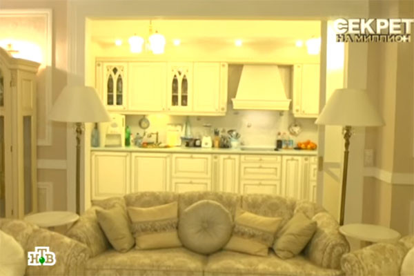 Актриса недавно купила роскошную квартиру