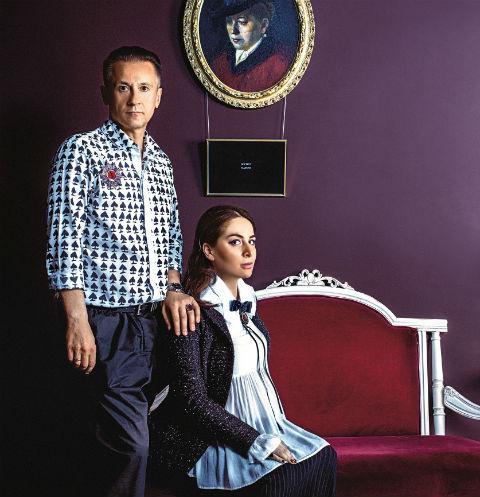 Олег Меньшиков придумал вместе с Дианой Джанелли целую коллекцию украшений