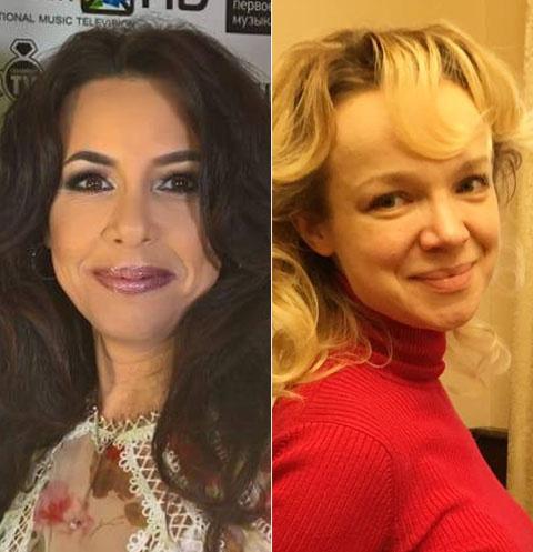 Ирина Аманти и Виталина Цымбалюк-Романовская