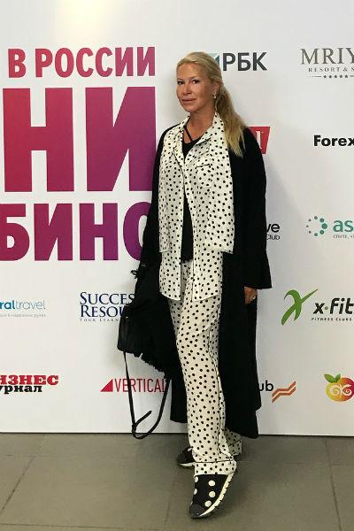 Екатерина Одинцова все чаще отдает предпочтение удобным вещам