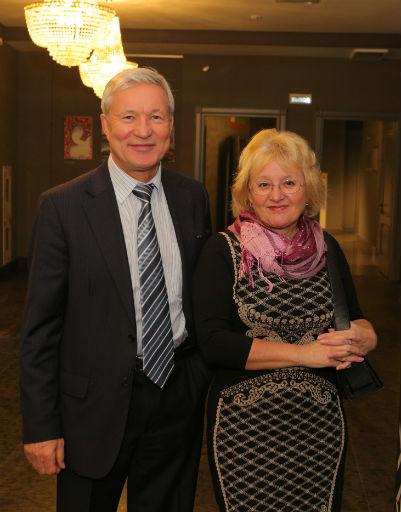 Виталий Перминов с женой