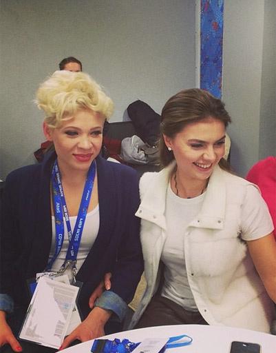 Тина Кузнецова и Алина Кабаева