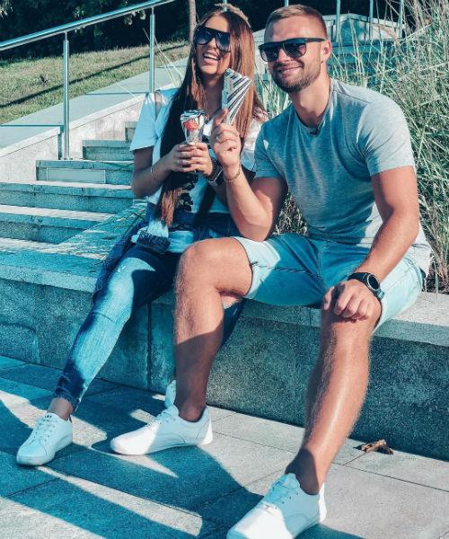 Виктор Литвинов и Татьяна Мусульбес