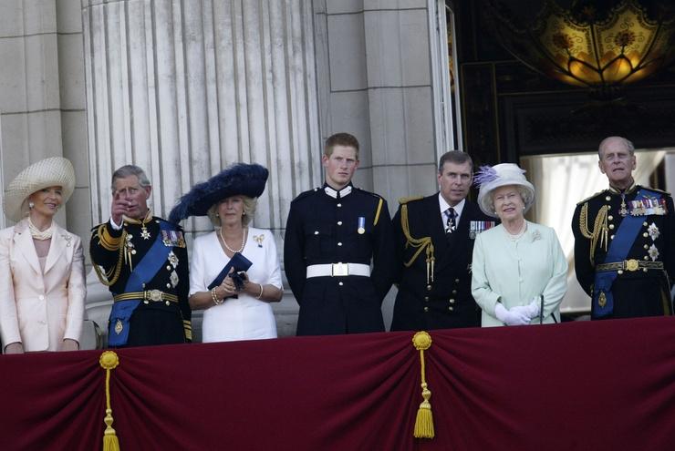 Филипп - самый старший член королевской семьи