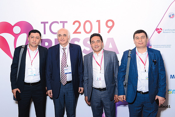 С узбекскими врачами на конгрессе