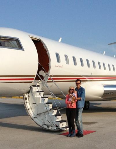 В конце июня семья вернулась из США в Москву