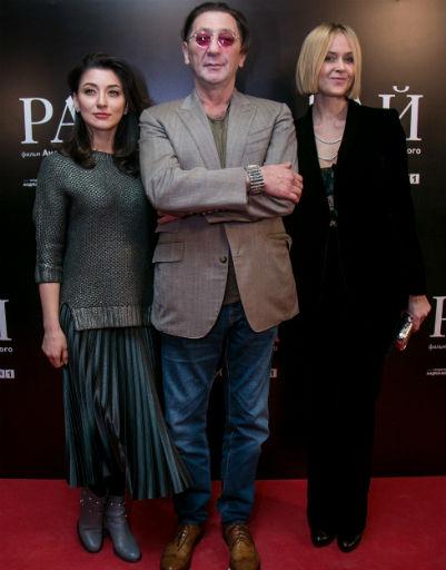 Григорий Лепс с супругой Анной и дочерью Ингой