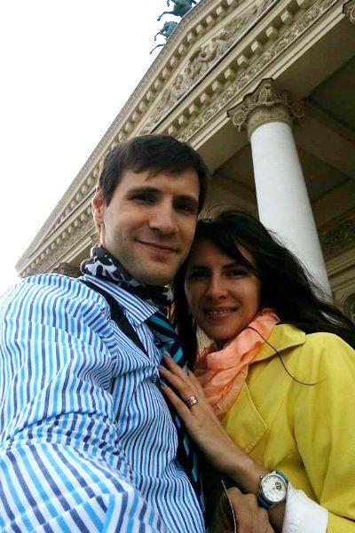 Александр Нелидов с супругой Екатериной