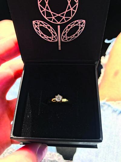 Кольцо, которое Кузин все-таки подарил Артемовой