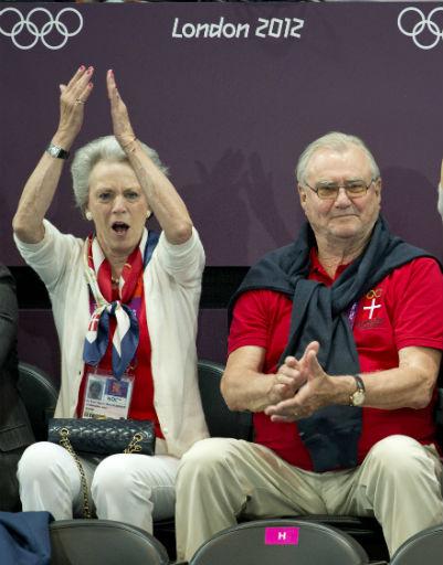 Датская королевская семья регулярно посещает соревнования