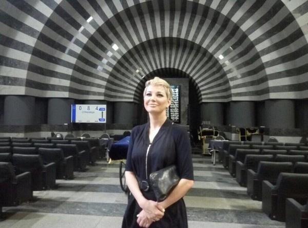 Сейчас Мария Максакова занимается работой по продвижению фонда поддержки начинающих артистов