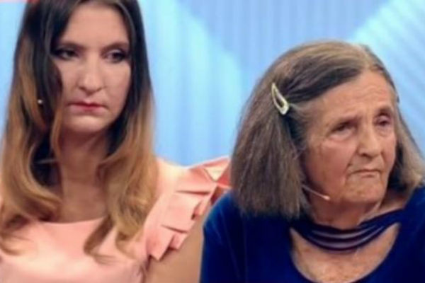 Людмила Лемох с бабушкой