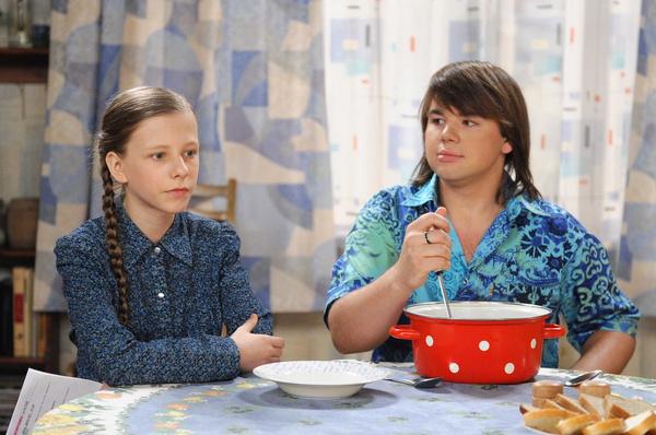 Елизавета Арзамасова сыграла в сериале отличницу Галину Сергеевну