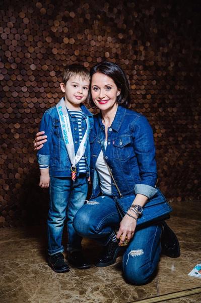 Ольга Кабо родила сына Виктора в 44 года