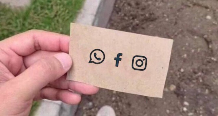 Новости: Наташа, Марк все уронил: шутки и мемы про глобальный сбой в работе Facebook, WhatsApp и Instagram – фото №5