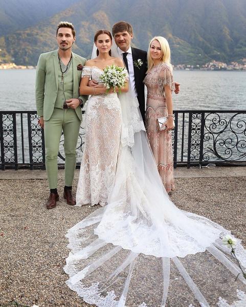 Яна Рудковская и Дима Билан нашли место в плотных рабочих графиках, чтобы посетить церемонию