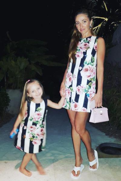 Дочь Пескова и Навки — Надя — появилась на свет 21 августа 2014-го