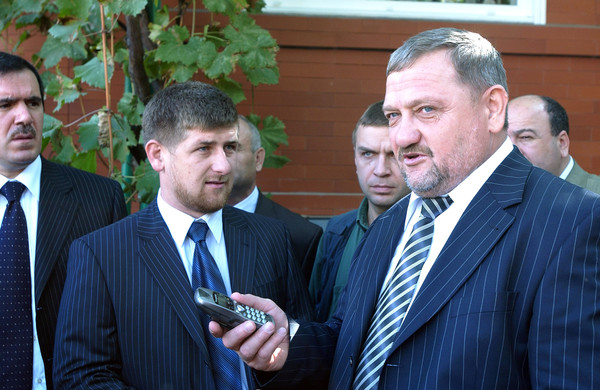 In 2000, Ramzan Kadyrov became his father's right hand