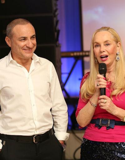 Михаил Турецкий и Нелли Кобзон