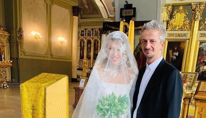 Ксения Собчак обвенчалась с Константином Богомоловым