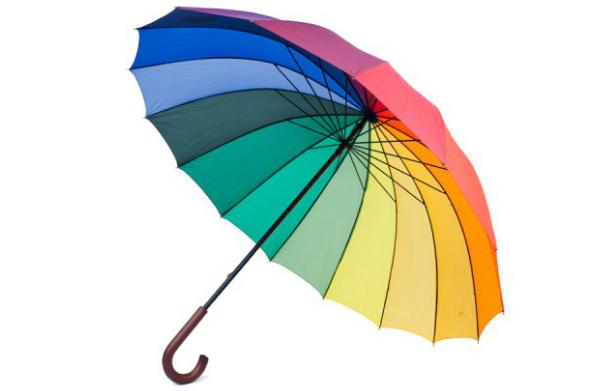 Happy Rain Зонт-трость «Гольф Мультиколор», 759 руб.