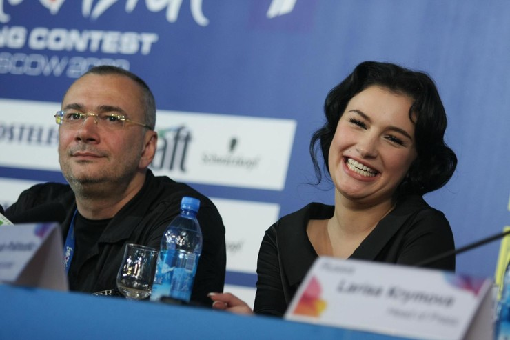 Константин Меладзе и Анастасия Приходько