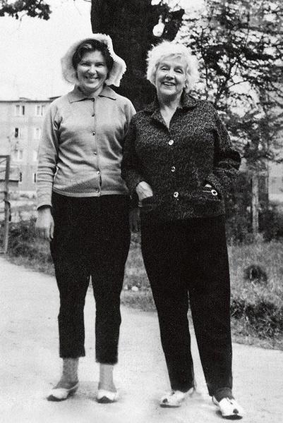 Много лет Ладынина дружила с Рогнедой Яценко