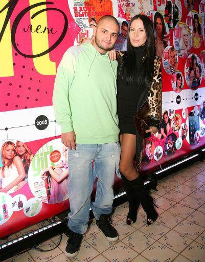 Dino MC с супругой