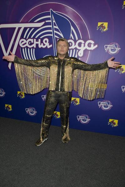 Николай Басков в эксклюзивном костюме