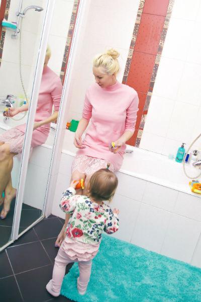 Элина признается, что найденное с большим трудом жилье ее полностью устраивает