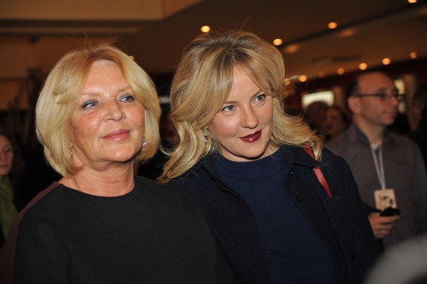 Марианна Вертинская с дочерью Александрой