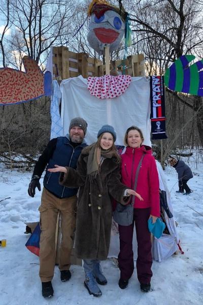 Эльвира Болгова отпраздновала Масленицу с первым мужем
