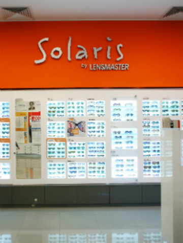 Корнер Solaris в магазине «Линзмастер»