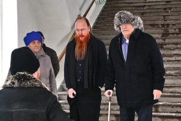 Никита Михалков опоздал на венчание брата на пять минут