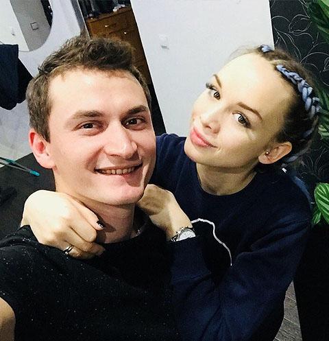Диана Шурыгина с мужем Андреем