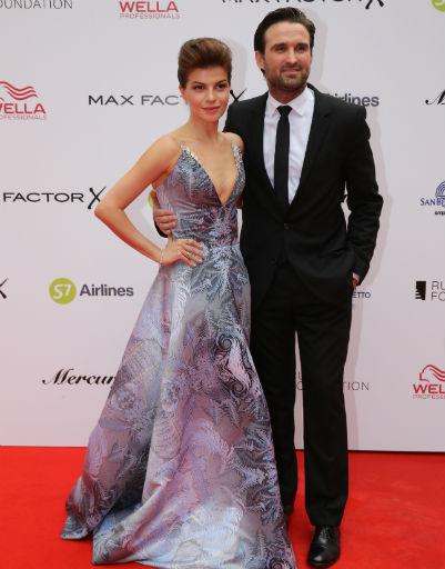 Агния Кузнецова с супругом