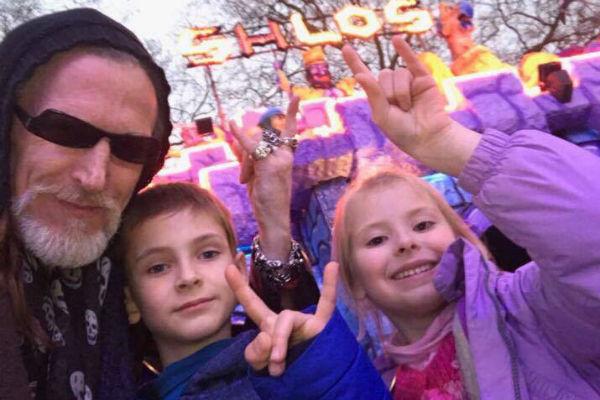 Дети были рады видеть папу