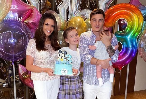 Сыну Кати Жужи исполнилось 3 месяца со дня рождения