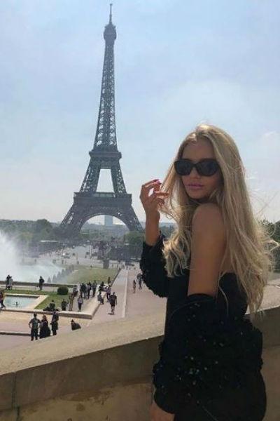 Елизавета Пескова живет во Франции