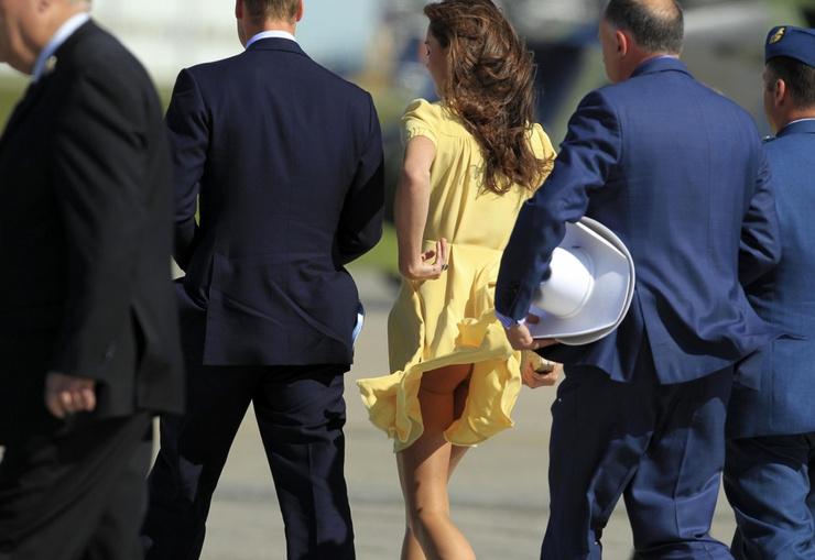 Ходили слухи, что после этого случая у Кейт была серьезная беседа с королевой