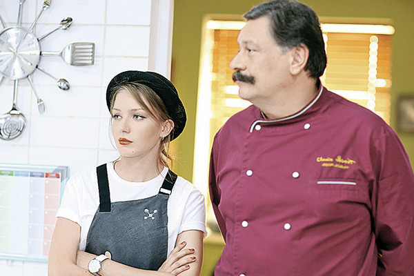 В «Кухне» Валерия сыграла роль Кати Семеновой, старшей дочери Баринова