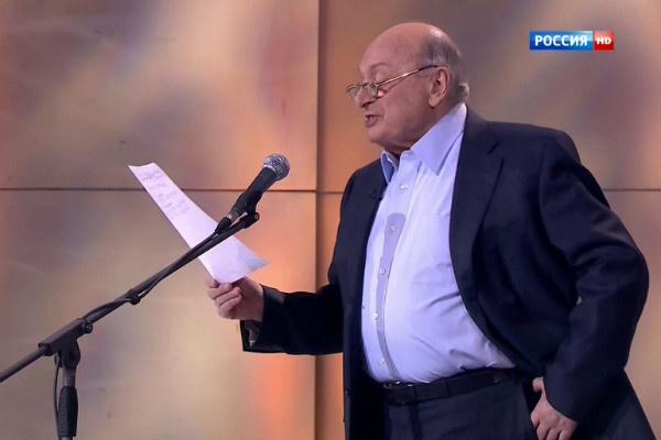 Михаил Жванецкий старается не отменять выступления, но здоровье его подводит