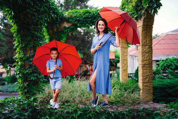 С мужем Ольга часто не может договориться по поводу воспитания сына