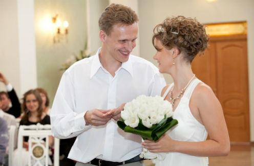 Летом 2011 года Сергей и Полина стали мужем и женой