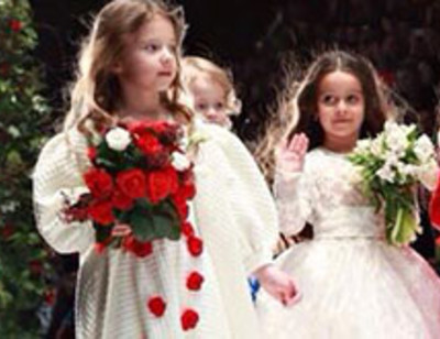 Дети Бородиной и Барановской произвели фурор на Неделе моды