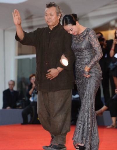 Ким Ки Дук с супругой